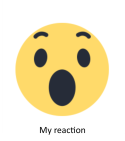 wow my reaction